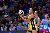 Pulse&rsquo; Aliyah Dunn in action during the ANZ Premiership - Pulse v Steel at Te Rauparaha Arena, Porirua, New Zealand on Wednesday 30 May 2018.<br /> Photo by Masanori Udagawa. <br /> www.photowellington.photoshelter.com