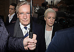 © Joel Goodman - 07973 332324 . 14/01/2014 . Preston , UK . Coronation Street's WILLIAM ROACHE arrives at Preston Crown Court this morning (14th January 2014) . The world's logest serving soap actor , who plays Ken Barlow , faces seven charges , including rape and sexual assault , against five girls , which he denies . Photo credit : Joel Goodman
