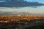 Downtown L.A. skyline viewed from Baldwin HIlls