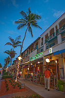 The Jolly Cricket open-air, upscale dining and nightlife along historic 5th Avenue South, Naples, Florida, USA. Photo by Debi Pittman Wilkey