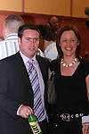 Damien English and fiancee at The Counting Station, Navan..Photo NEWSFILE/Jenny Matthews.(Photo credit should read Jenny Matthews/NEWSFILE)....This Picture has been sent you under the condtions enclosed by:.Newsfile Ltd..The Studio,.Millmount Abbey,.Drogheda,.Co Meath..Ireland..Tel: +353(0)41-9871240.Fax: +353(0)41-9871260.GSM: +353(0)86-2500958.email: pictures@newsfile.ie.www.newsfile.ie.FTP: 193.120.102.198.