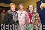 Margaret Shea (Ballydavid), Brenda Ní Shúilleabhain (Ceann Tra) and Deirdre Daly (Dingle) at the Dingle Film Festival over the weekend.