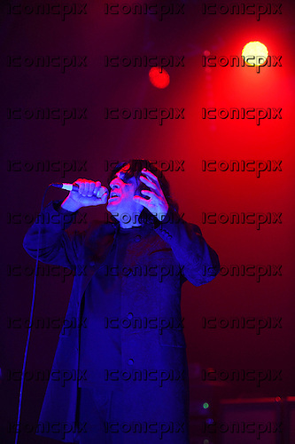 KILLING JOKE - vocalist Jaz Coleman - performing live at the O2 Academy in Brixton London UK - 04 Nov 2016.  Photo credit: Zaine Lewis/IconicPix
