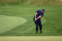 Phil Mickelson (USA) chips up on to 11 during round 4 of the 2019 PGA Championship, Bethpage Black Golf Course, New York, New York,  USA. 5/19/2019.<br /> Picture: Golffile | Ken Murray<br /> <br /> <br /> All photo usage must carry mandatory copyright credit (© Golffile | Ken Murray)