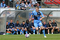 Lee Sawyer of Wycombe Wanderers, on loan from Chelsea, in action during Wycombe Wanderers vs Notts County, Coca Cola League Division Two Football at Adams Park on 2nd May 2009