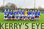 The Tralee CBS team that played PS Corcha Dhuibhne in the quarter final of the Corn Uí Mhuirí in Killarney on Wednesday