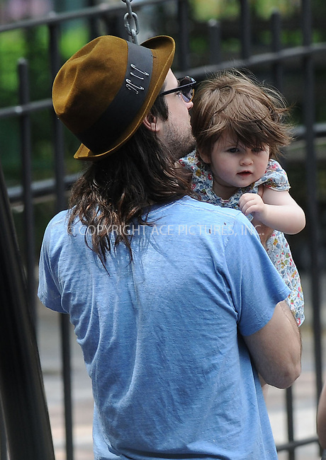 WWW.ACEPIXS.COM . . . . . .May 29, 2013...New York City....Tom Sturridge and Marlowe go for a walk to the playground in the West Village on May 29, 2013 in New York City. ....Please byline: Kristin Callahan....WWW.ACEPIXS.COM.. . . . . . ..Ace Pictures, Inc: ..tel: (212) 243 8787 or (646) 769 0430..e-mail: info@acepixs.com..web: http://www.acepixs.com .
