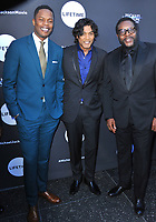 www.acepixs.com<br /> <br /> May 23 2017, LA<br /> <br /> Samuel Adegoke, Navi and Chad L. Coleman arriving at Lifetime's Michael Jackson: Searching for Neverland Premiere Event at Avalon on May 23, 2017 in Hollywood, California.<br /> <br /> By Line: Peter West/ACE Pictures<br /> <br /> <br /> ACE Pictures Inc<br /> Tel: 6467670430<br /> Email: info@acepixs.com<br /> www.acepixs.com