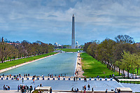 Washington Monument, Reflecting Pool, Potomac Park, Washington, D.C.