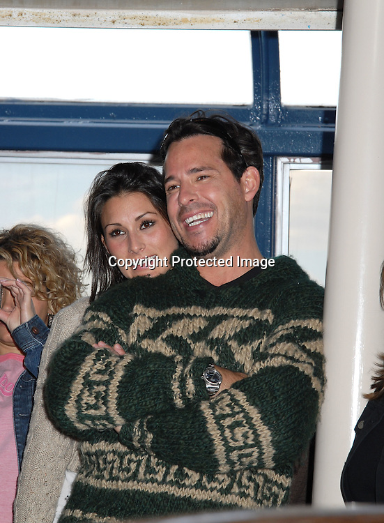 Ricky Paull Goldin and girlfriend..at The Gus Bus Harbor Cruise on October 15, 2006 on World Yacht Boat Temptress.                                         Robin Platzer, Twin Images