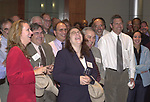 Audience photographed at the Celebration of the 35th Anniverserary of Newsday Investigations Team held in Newsday Auditorium in Melville on Thursday September 26, 2002. (Newsday photo by Jim Peppler).