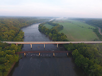 Bremo Bluff located in Buckingham County, Va. Photo/Andrew Shurtleff