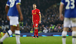 Ragnar Klavan of Liverpool during the English Premier League match at Goodison Park, Liverpool. Picture date: December 19th, 2016. Photo credit should read: Lynne Cameron/Sportimage