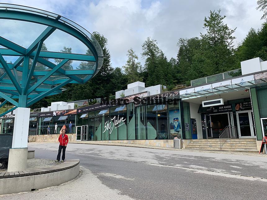 Salzbergwerk Berchtesgaden - Berchtesgaden 16.07.2019: Berchtesgaden