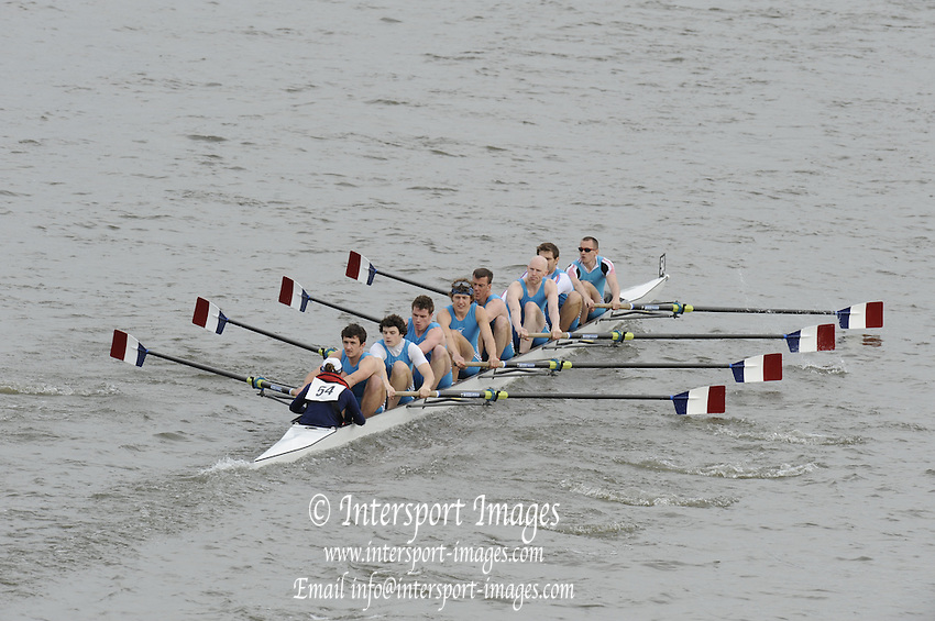 Chiswick, London, GREAT BRITAIN,  Taurus BC at the starting the race, looking from Chiswick Bridge. 2011 Head of the River Race. Mortlake to Putney,  Championship Course River Thames on Saturday  02/04/2011  [Mandatory Credit, Peter Spurrier/Intersport-images]