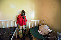 Gulu Mental Hospital patient