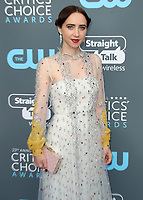 SANTA MONICA, CA - JANUARY 11:  Zoe Kazan at the 23rd Annual Critics' Choice Movie Awards at Barker Hangar on January 11, 2018 in Santa Monica, California. (Photo by Scott Kirkland/PictureGroup)