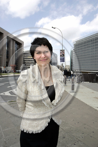 BRUSSELS - BELGIUM - 20 JUNE 2006 -- The Norwegian Fishery Minister Helga PEDERSEN . -- PHOTO: JUHA ROININEN / EUP-IMAGES.