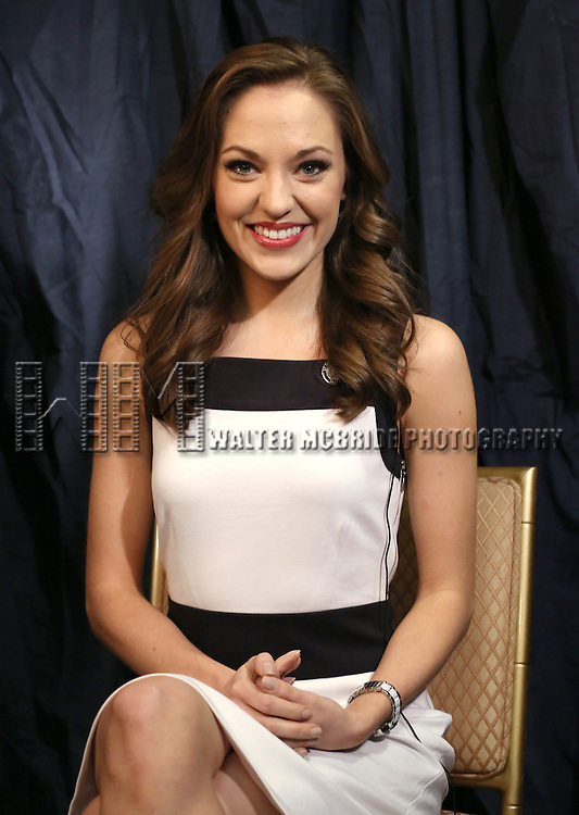 Laura Osnes  'In The Spotlight' at the 2013 Tony Awards Meet The Nominees Junket  at the Millennium Broadway Hotel in New York on 5/1/2013...