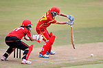 Liu Jie of China in action during their ICC 2016 Women's World Cup Asia Qualifier match between Hong Kong and China on 14 October 2016 at Hong Kong Cricket Club in Hong Kong, China. Photo by Marcio Machado / Power Sport Images