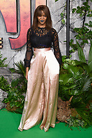 Oti Mabuse at the &quot;Jumanji: Welcome to the Jungle&quot; premiere at the Vue West End, Leicester Square, London, UK. <br /> 07 December  2017<br /> Picture: Steve Vas/Featureflash/SilverHub 0208 004 5359 sales@silverhubmedia.com
