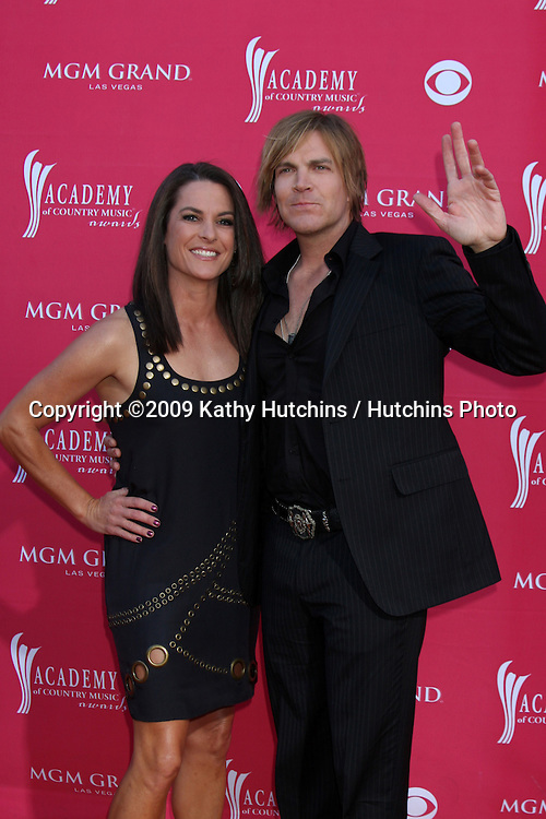Jack Ingram   arriving at the 44th Academy of Country Music Awards at the MGM Grand Arena in  Las Vegas, NV on April 5, 2009.©2009 Kathy Hutchins / Hutchins Photo....                .