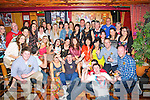 KEY OF THE DOOR: Cliodhna Crowley,Cordal Castleisland who celebrated her 21st Birthday with her fa,mily and friend in Co Bar the River Island Hotel, Castleisland (Cliodhna is seated 4th from right..