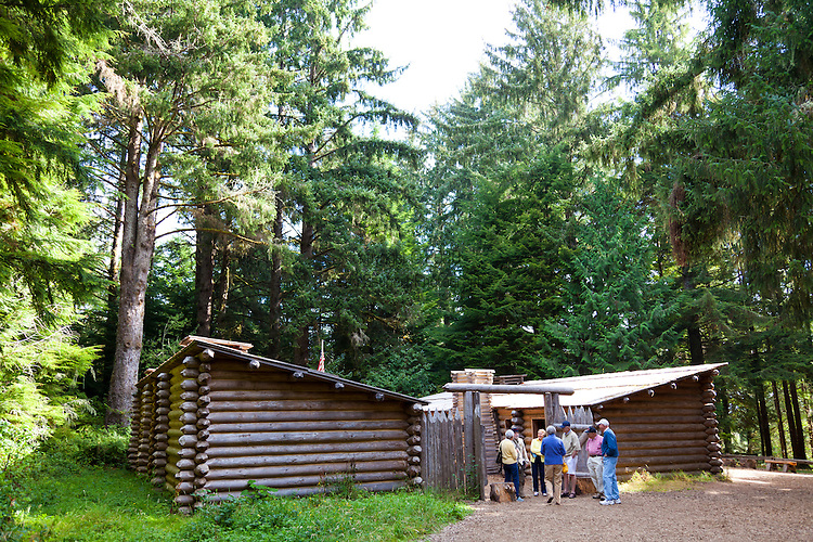 Fort Clatsop was the winter encampment for the Corps of Discovery from December 1805 to March 1806. The visitor center includes a replica of Fort Clatsop similar to the one built by the explorers, an interpretive center offering an exhibit hall, gift shop and two films. The center features ranger-led programs, costumed rangers in the fort and trailheads for the Fort To Sea Trail and Netul River Trail