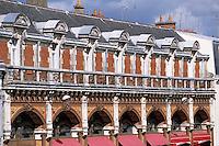 Europe/France/Bretagne/56/Morbihan/Vannes: Détail d'un immeuble art-déco rue Alexandre le Grand