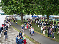 Henley Royal Regatta, Henley on Thames, Oxfordshire, 28 June - 2 July 2017.  Wednesday  12:30:17   28/06/2017  [Mandatory Credit/Intersport Images]<br /> <br /> Rowing, Henley Reach, Henley Royal Regatta.<br /> <br /> Stewards Enclosure