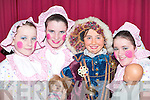 COSTUMES: Fiona ODonoghue, Julie McCarthy, Mairead OSullivan and Katie Cremin all dressed up for The Wizard of Oz pantomime in Rathmore Community Centre last Sunday..