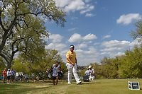 Kiradech Aphibarnrat (THA) approaches the 12th tee during day 2 of the World Golf Championships, Dell Match Play, Austin Country Club, Austin, Texas. 3/22/2018.<br /> Picture: Golffile | Ken Murray<br /> <br /> <br /> All photo usage must carry mandatory copyright credit (&copy; Golffile | Ken Murray)