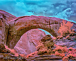 Stormy Day, Rainbow Bridge (Infrared)