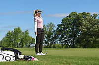 Brooke M. Henderson (CAN) barely misses her birdie putt on 11 during the round 3 of the KPMG Women's PGA Championship, Hazeltine National, Chaska, Minnesota, USA. 6/22/2019.<br /> Picture: Golffile | Ken Murray<br /> <br /> <br /> All photo usage must carry mandatory copyright credit (© Golffile | Ken Murray)