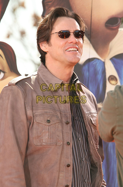 "JIM CARREY .""Horton Hears A Who"" World Premiere held at the Mann Village Theatre,.Westwood, California, USA, .08 March 2008.half length sunglasses.CAP/ADM/RE.?Russ Elliot/Admedia/Capital PIctures"