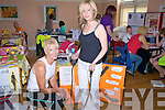Listowel Health Fair: Attendin the  Listowel Health fair at the Seanachi Centre on Saturday were Fitness Instructor Maggie Large  and Marie Quain, Maggie will be holding Aerobics & Fitness classes in Knockanure & Listowel from the 10th June.
