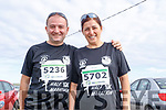 Pictured at the Brandon Bay Half Marathon and 10k on Saturday were Antonio Fernandez Sanchez and Maria Sanpedro (Barcelona) on holiday.