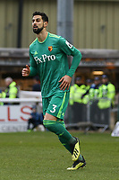 Miguel Angel Britos of Watford during Woking vs Watford, Emirates FA Cup Football at The Laithwaite Community Stadium on 6th January 2019