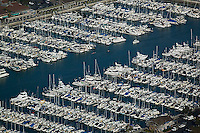 aerial photograph Dana Point harbor, Orange County, California
