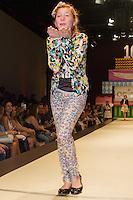 SÃO PAULO,SP,28.03.2015- FASHION WEEKEND KIDS -A atriz,Giulia Garcia (Ana,da novela Chiquititas) durante o desfile da marca Animê.Shopping Cidade Jardim,região sul da cidade de São Paulo na tarde desse sábado,28.(FOTO:KEVIN DAVID/BRAZIL PHOTO PRESS).