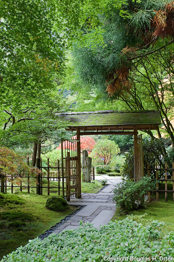 The Japanese Garden in Portland is a 5.5 acre respit.  Said to be one of the most authentic Japanese Garden's outside of Japan, the rolling terrain and water features symbolize both peace and strength.