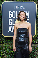 Nominated for BEST PERFORMANCE BY AN ACTRESS IN A TELEVISION SERIES &ndash; DRAMA for her role in &quot;The Deuce,&quot; actress Maggie Gyllenhaal arrives at the 75th Annual Golden Globe Awards at the Beverly Hilton in Beverly Hills, CA on Sunday, January 7, 2018.<br /> *Editorial Use Only*<br /> CAP/PLF/HFPA<br /> &copy;HFPA/PLF/Capital Pictures