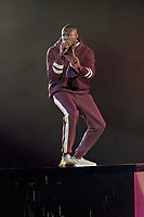 Stormzy performs the show of the 2017 MTV Europe Music Awards, EMAs, at SSE Arena, Wembley, in London, Great Britain, on 12 November 2017. Photo: Hubert Boesl <br />
