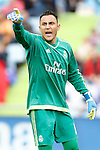 Real Madrid's Keylor Navas during La Liga match. April 16,2016. (ALTERPHOTOS/Acero)