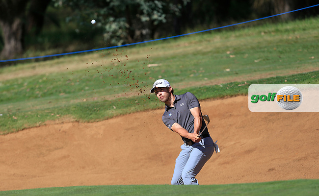 Bryden MacPherson (AUS) on the 8th during Round 1 of the ISPS HANDA Perth International at the Lake Karrinyup Country Club on Thursday 23rd October 2014.<br /> Picture:  Thos Caffrey / www.golffile.ie