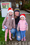 Isabelle, John and Amelia Harty Milltown getting some Christmas shopping at the Milltown Farmers Market on Saturday
