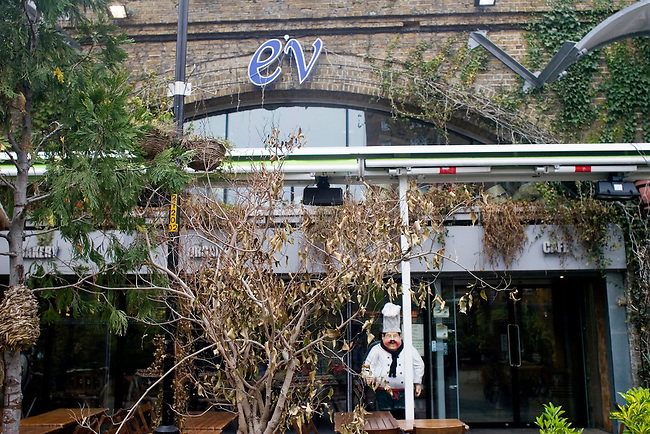 Exterior, EV Restaurant, London, England