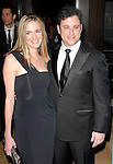 Molly McNearney &  Jimmy Kimmel. at the 24th annual American Cinematheque Award presentation to Matt Damon held at The Beverly Hilton Hotel in Beverly Hills, California on March 27,2010                                                                   Copyright 2010  DVS / RockinExposures