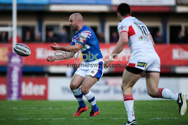 Picture by Alex Whitehead/SWpix.com - 02/06/2016 - Rugby League - First Utility Super League - Wakefield Trinity Wildcats v Hull KR - Rapid Solicitors Stadium, Wakefield, England - Wakefield's Liam Finn.