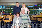 Noreen and Patrick Griffin celebrating their 32nd wedding anniversary and noreen's birthday with friends Pat Herlihy and Melanie Harty at the Kingdom Greyhound Stadium on Saturday